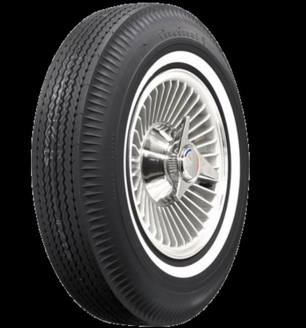 """6.70-15 Reifen mit Weißwand (Weißwandreifen) GAZ 21 Wolga. Tyre Whitewall tire (white sidewall (WSW)) 6,7-15"""" GAS M21 Volga. Диагональные шины 6,70-15 с белой полосой для Газ M21 Волга."""