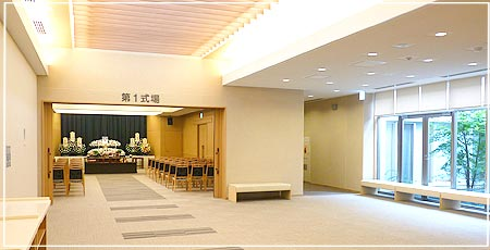 厚木市斎場式場