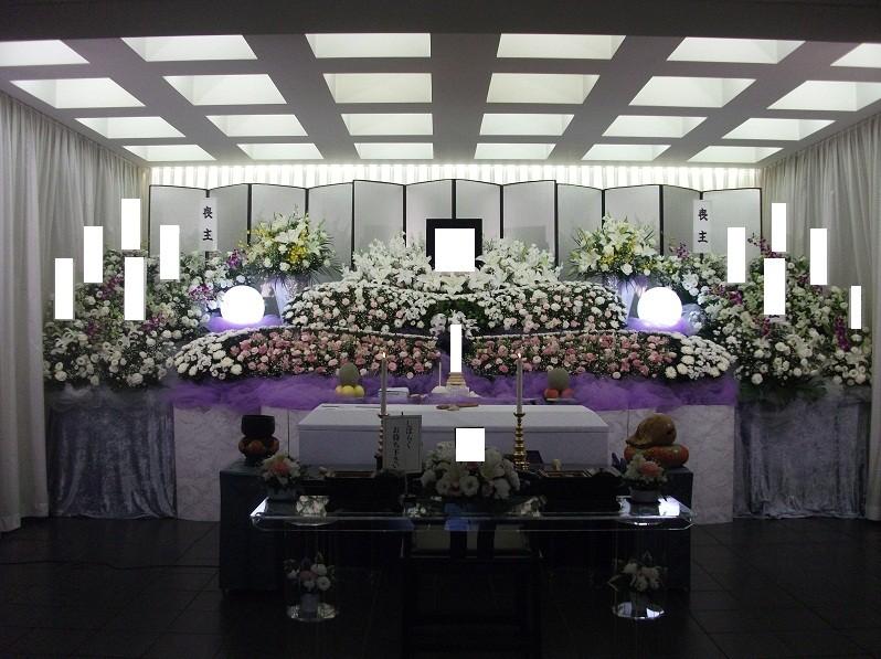 生花祭壇グレードアップ