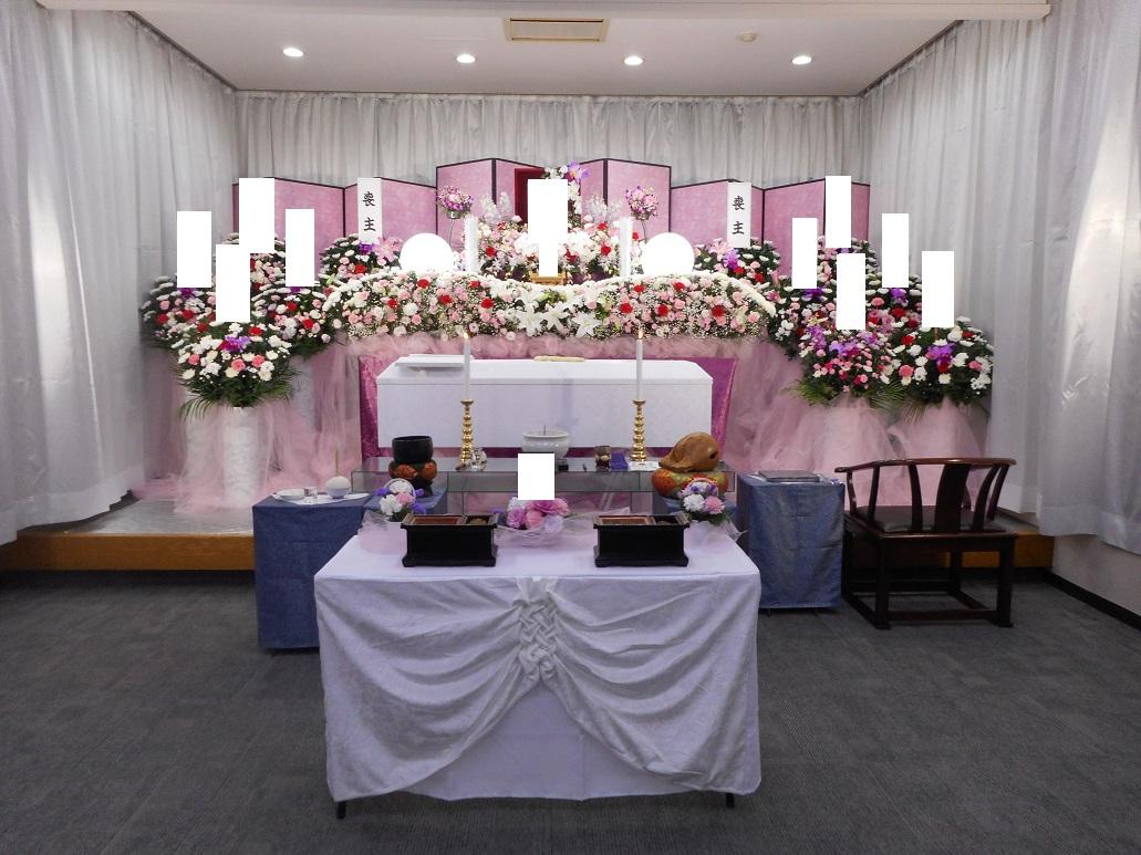 生花祭壇 1.5間270㎝ +5万円