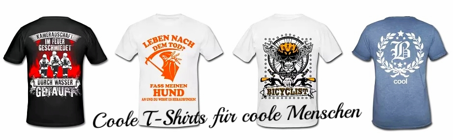 best service 9fa2d b6a0f Coole T-Shirts - Der Stil für die Straße