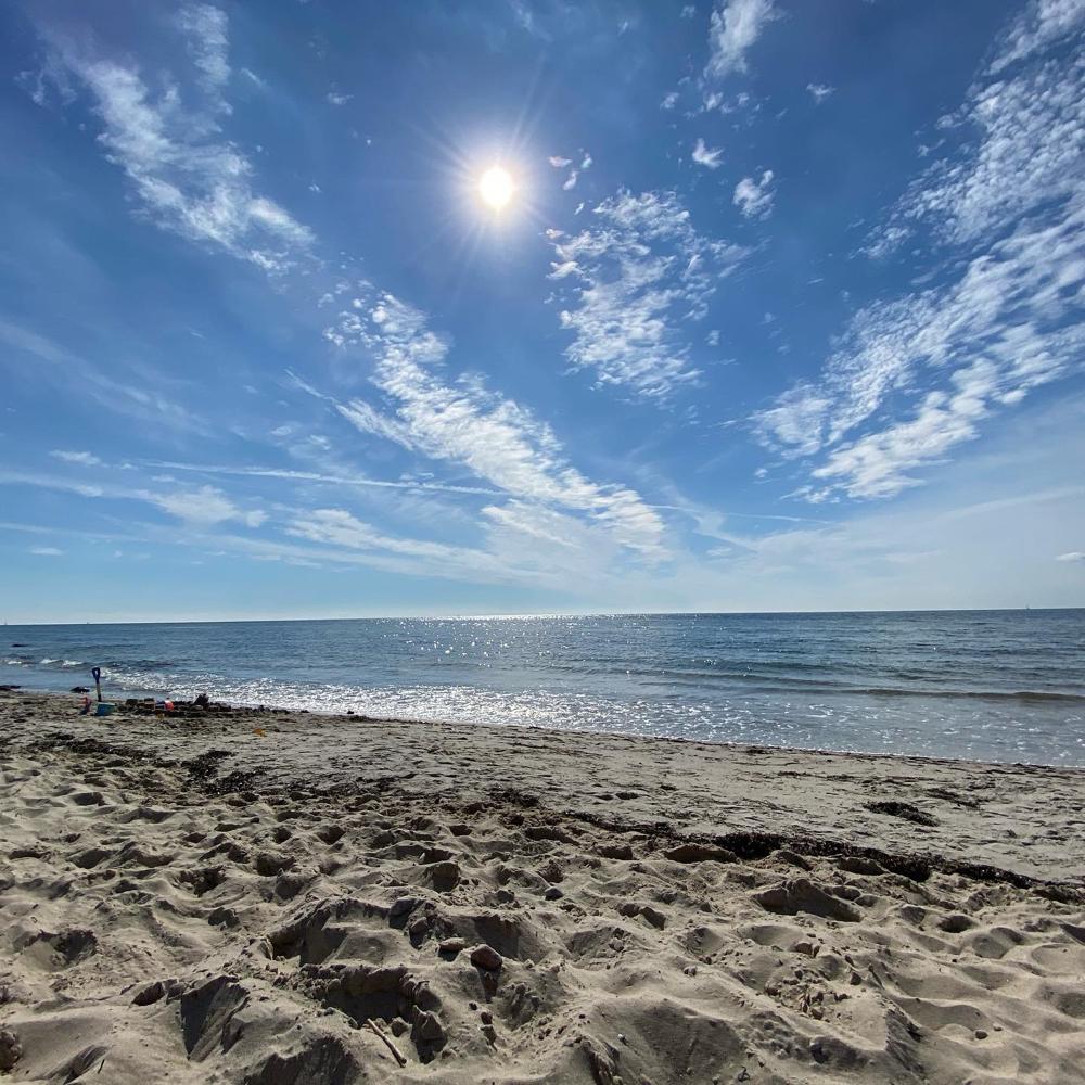 Den Strand erreichen Sie in ca. 5 min zu Fuss