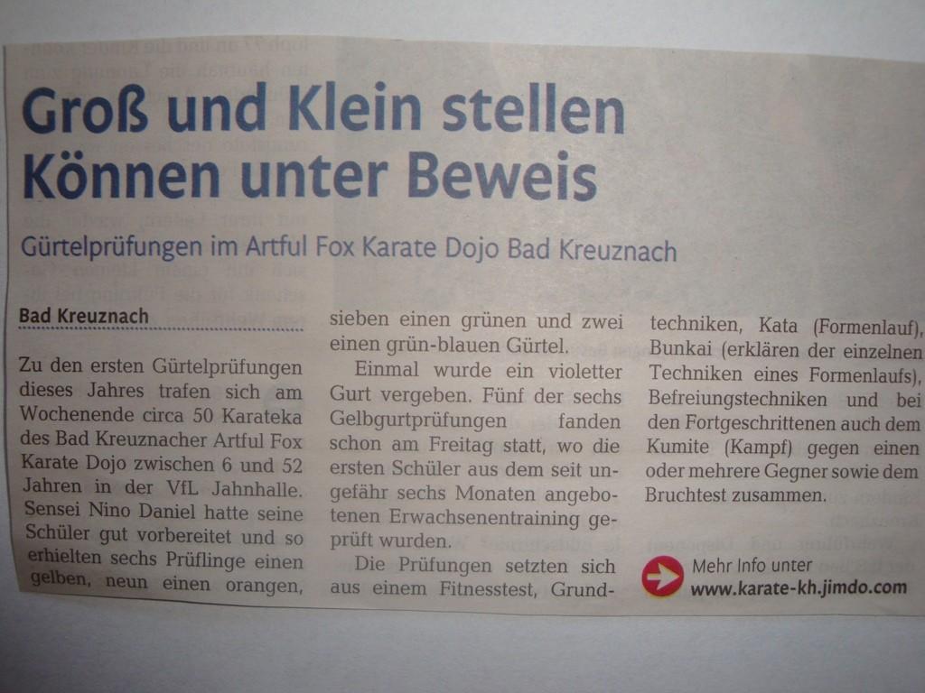 """Öffentlicher Anzeiger Bad Kreuznach """" Wir von hier"""", Mai 2015"""