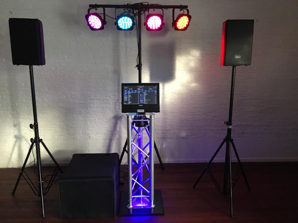 leukste muziekcomputer (digitale jukebox) voor thuis feestjes te huur uit dongen (noordbrabant)