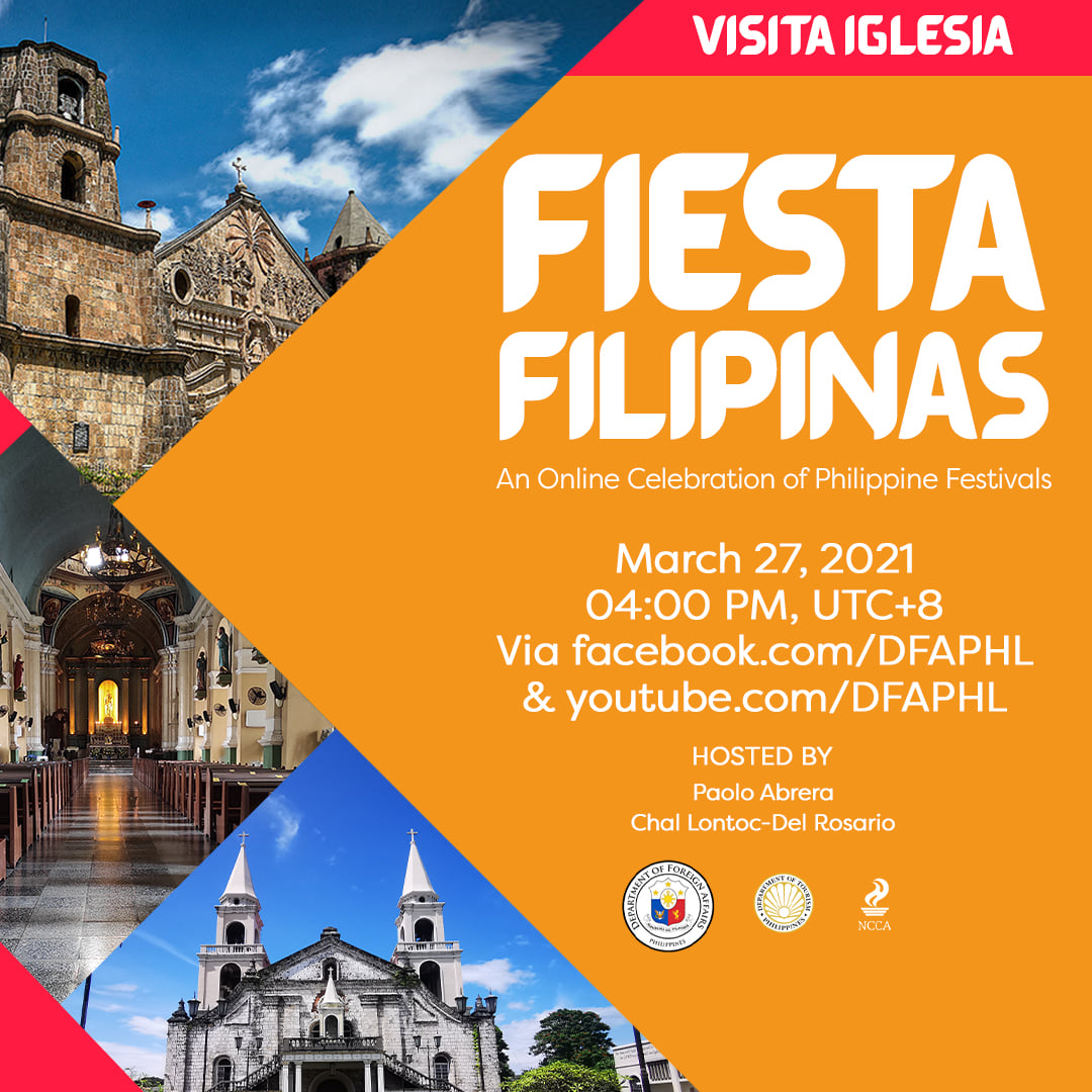#FiestaFilipinas Visita Iglesia
