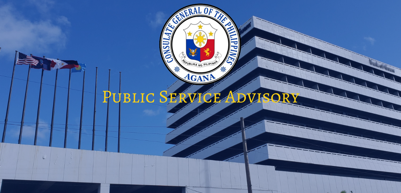 ADVISORY: The Consulate General will be closed from 2 to 3 September 2021