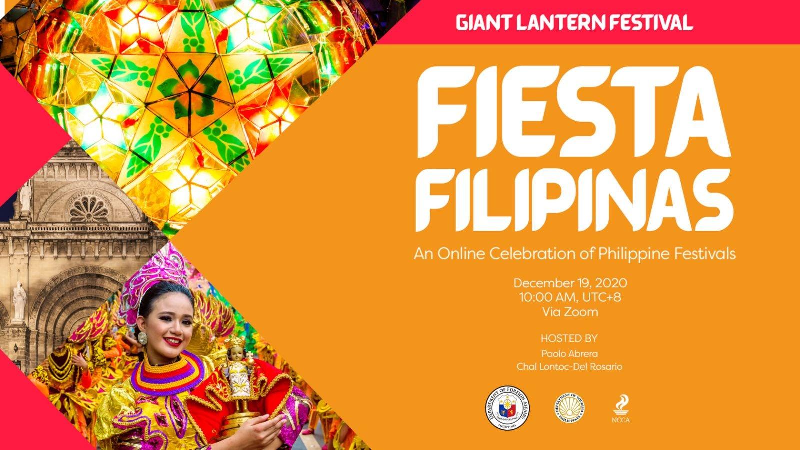 #FiestaFilipinas Giant Lantern Festival LIVE!