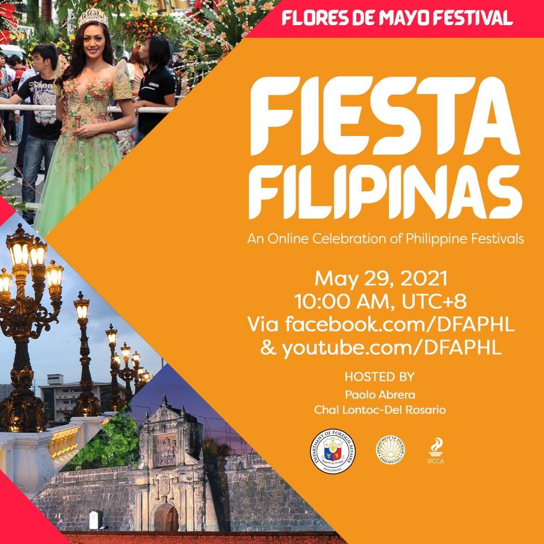 #FiestaFilipinas Flores de Mayo