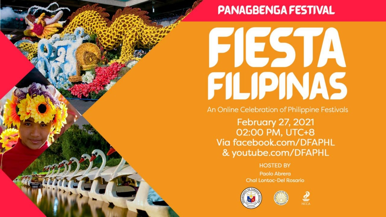 #FiestaFilipinas Panagbenga Festival