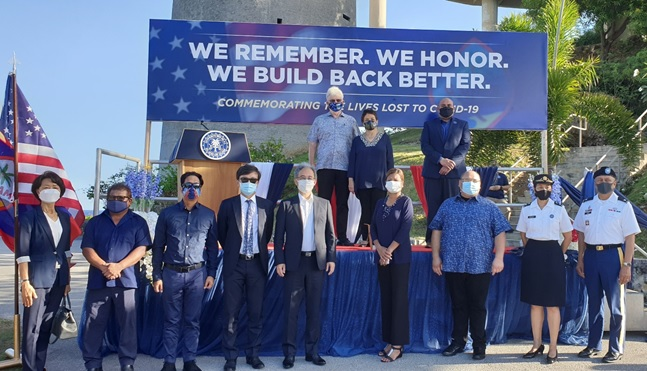 Agana PCG Joins Nationwide COVID-19 Memorial