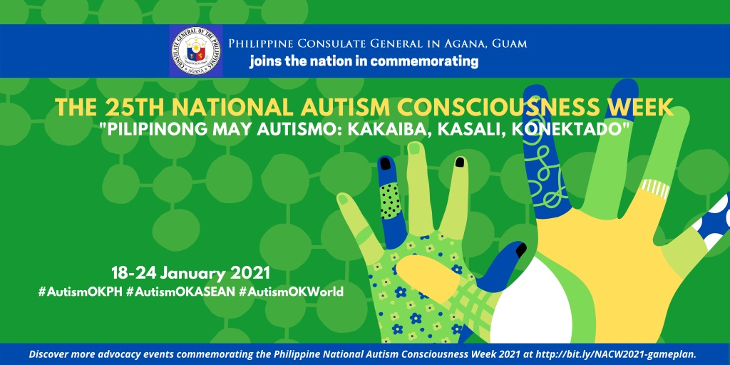25th National Autism Consciousness Week, 18-24 January 2021