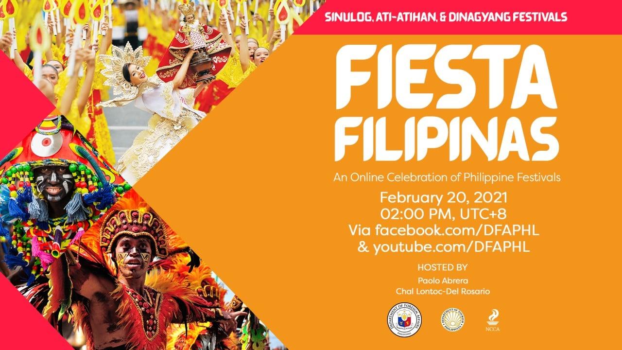 #FiestaFilipinas Sinulog, Ati-Atihan and Dinagyang Festivals