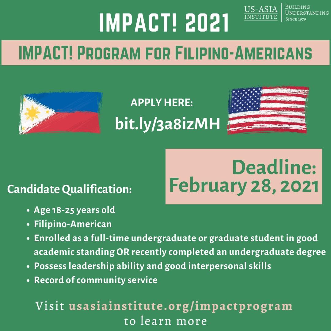 IMPACT! Filipino-American National Internship Program_Summer 2021
