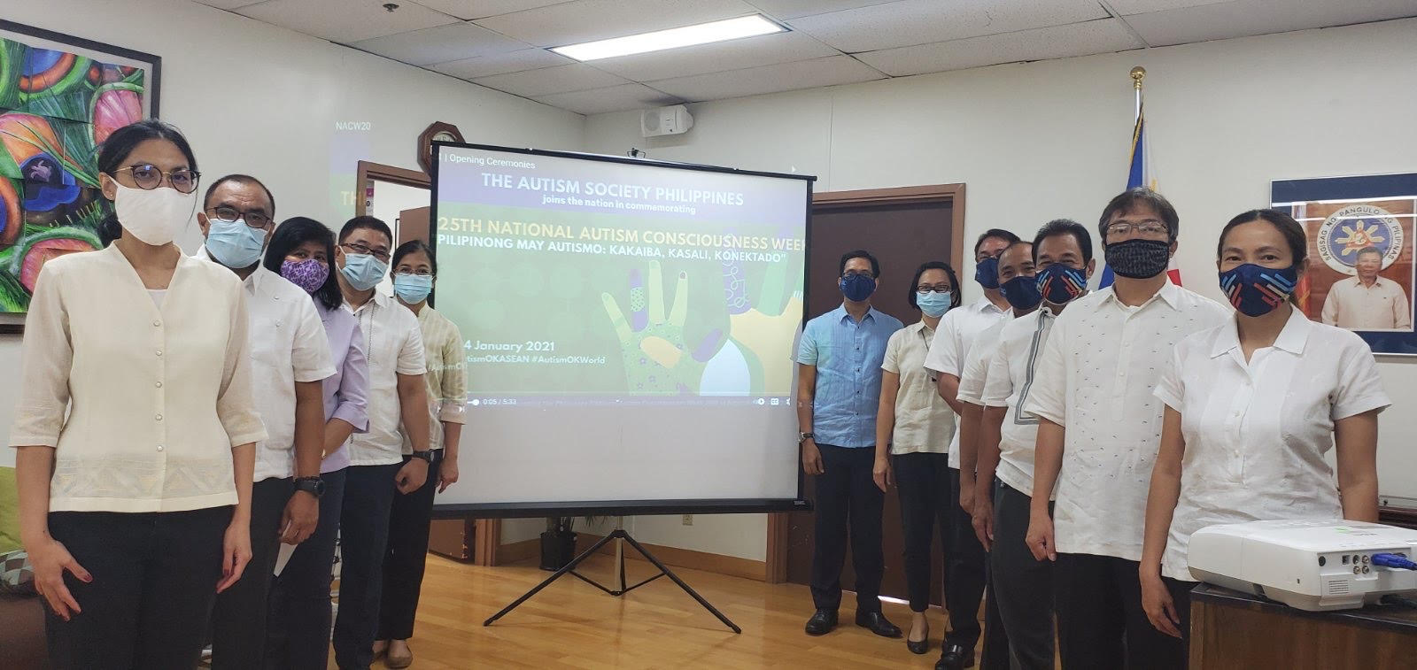 PCG Agana Observes 25th National Autism Consciousness Week