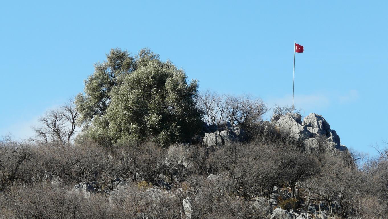 """""""Gipfel"""" mit türkischer Flagge"""