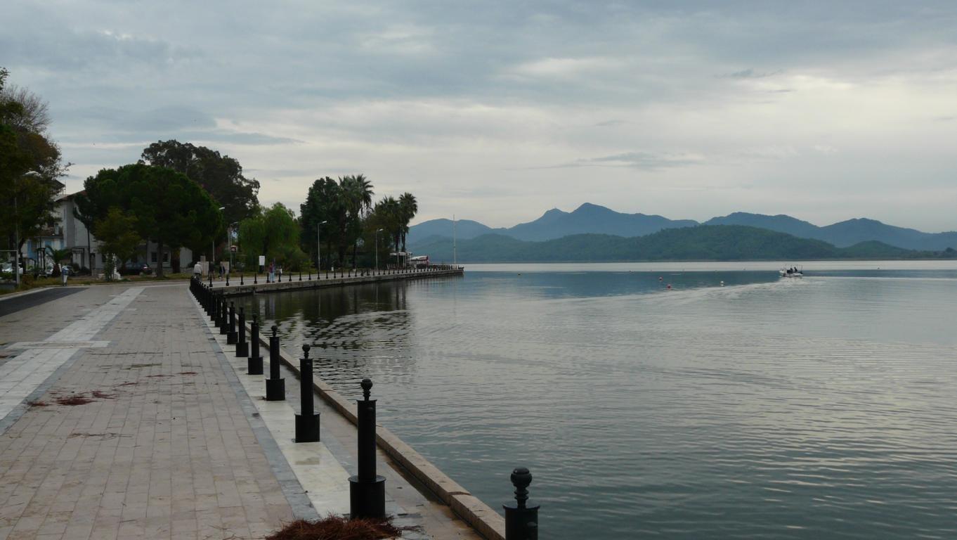 Uferpromenade in Köycegiz