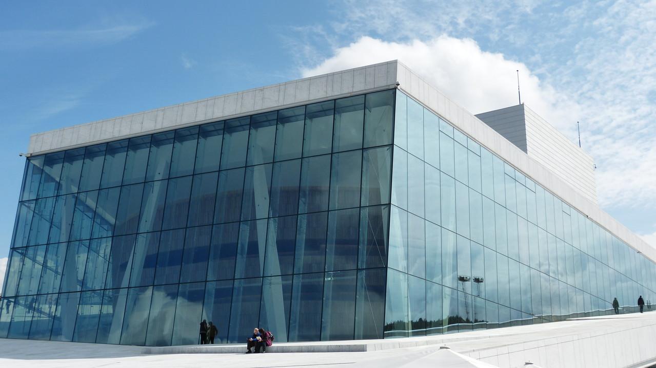 Die neue Oper in Oslo