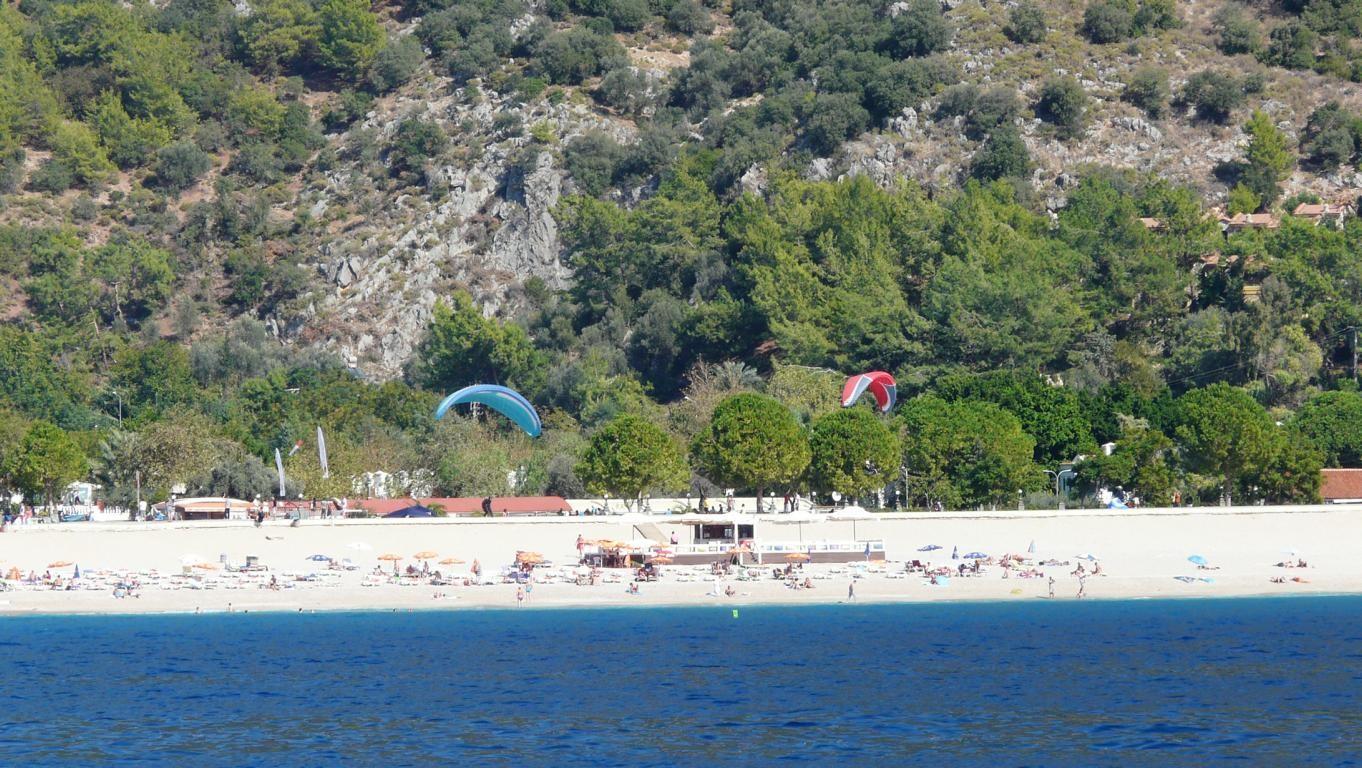 Landebahn am Strand