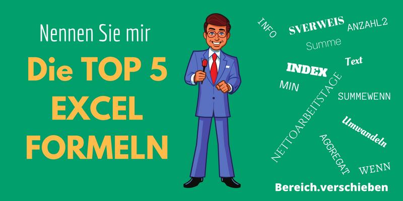 Excel Formeln Top 5