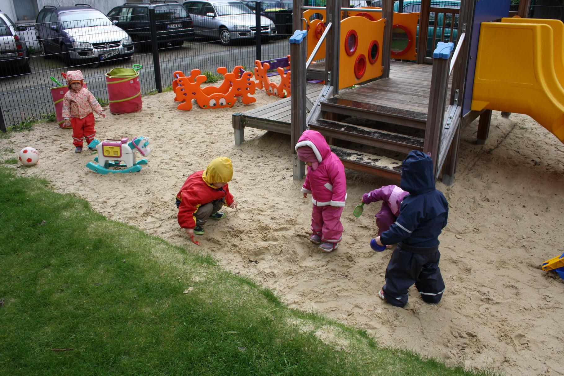 Mitbenutzung des Gartens bei Klara&Paul