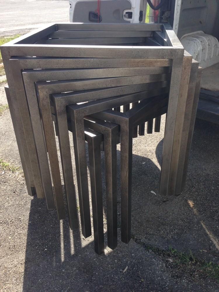 Possibilit di tavoli in ferro su misura benvenuti su - Tavoli in legno e ferro ...