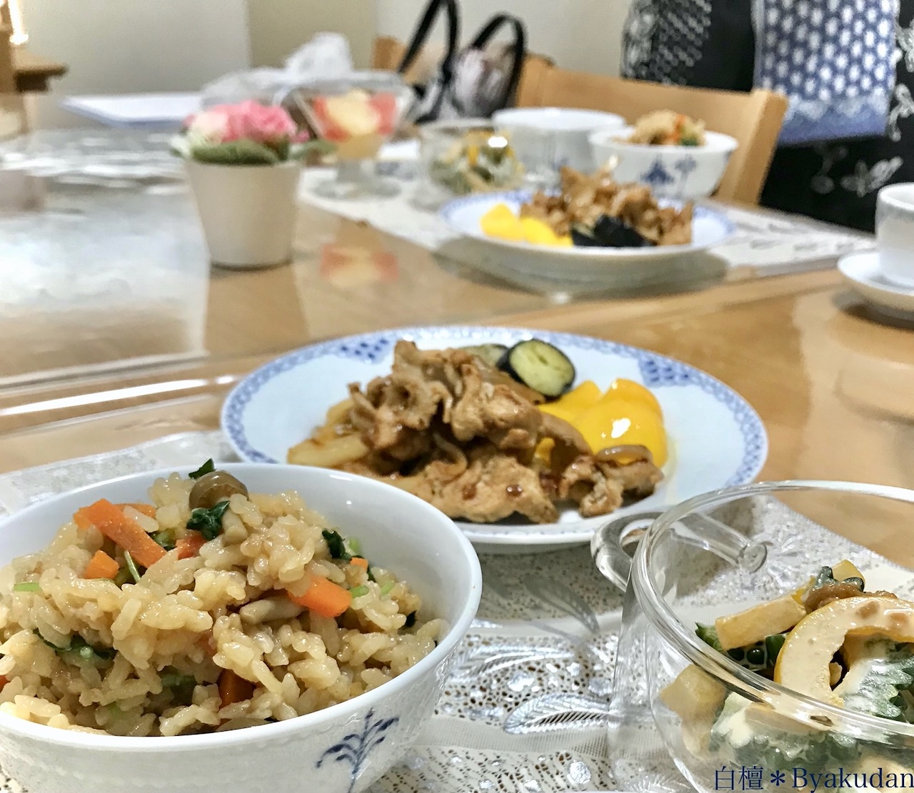 【20210717】533【薬膳と発酵食の教室 白檀*醤油麹料理】