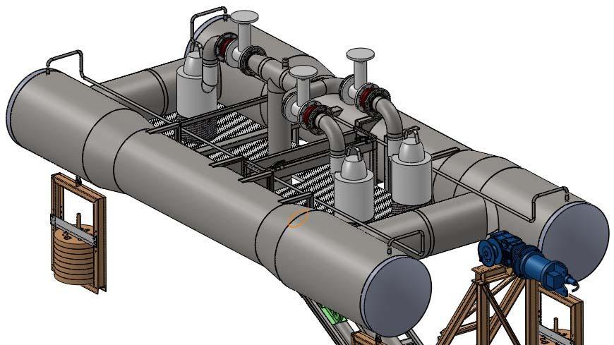 Conception d'un système de pompage flottant