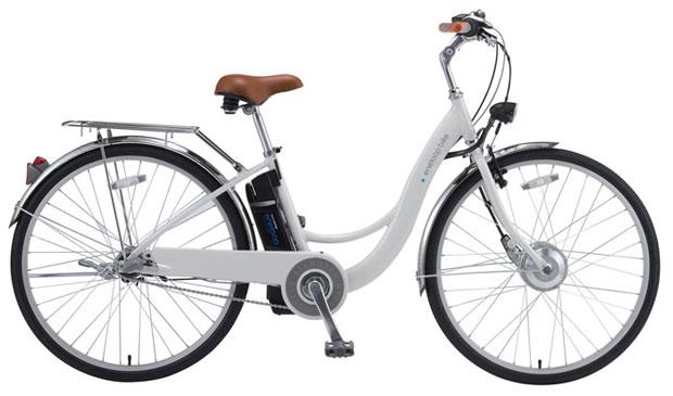 """Bicicleta de """"paseo"""" con motor eléctrico"""