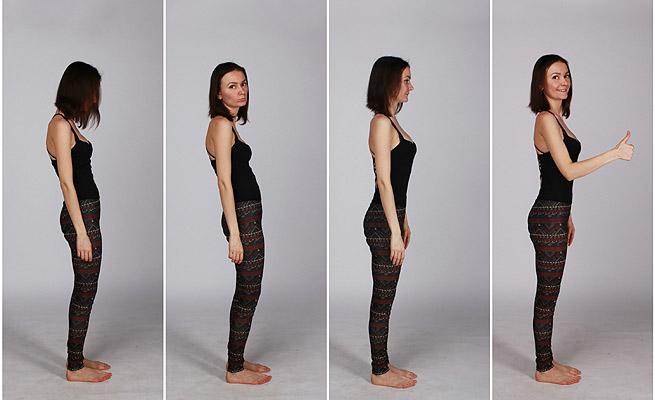 Muchas revistas tratan sobre el tema de la postura y su influencia en la barriga y en otras cosas