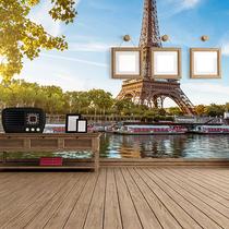 Utiliza fotomurales para redecorar tus espacios.
