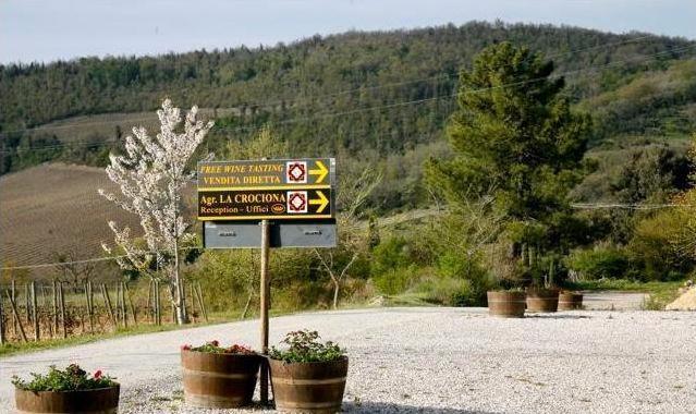 Azienda vitivinicola Tenuta Croce di mezzo. Foto blog Etesiaca