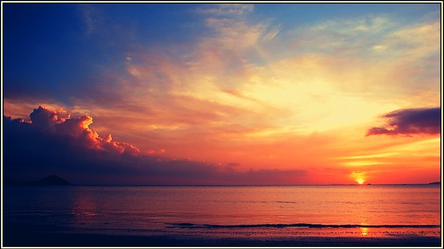 Sunset - Had Yao Beach - Trang Province