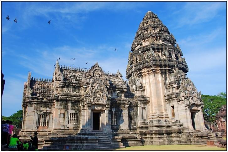 Main Shrine Of The Khmer Temple - Phimai Historical Park