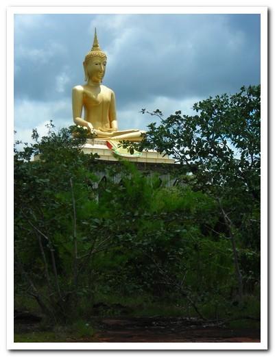 Big Buddha - Pha Taem National Park - Ubon Ratchathani Province -