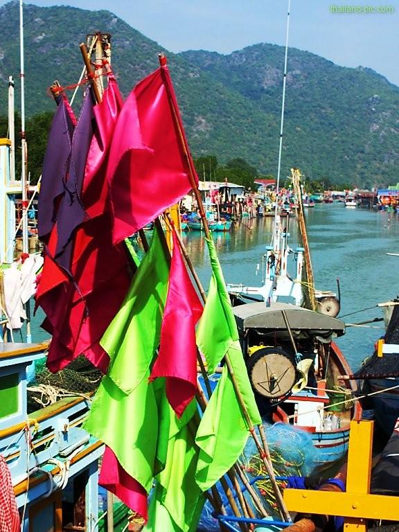 Ban Boo Harbor - Khao Sam Roi Yot National Park - Prachuap Khiri Khan Province