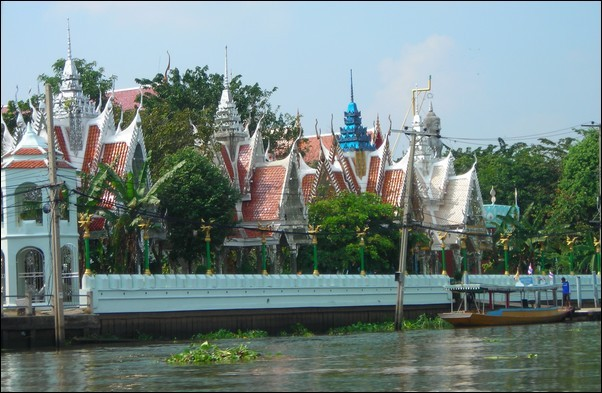 Boot Trip On The Chao Phraya River