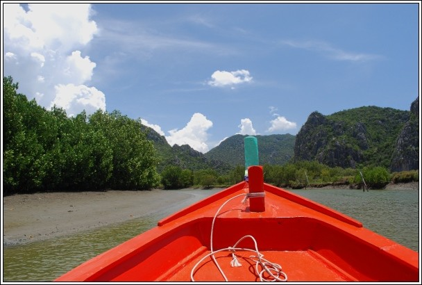 Boat Tour On The Khao Daeng Canal  - Khao Sam Roi Yot National Park