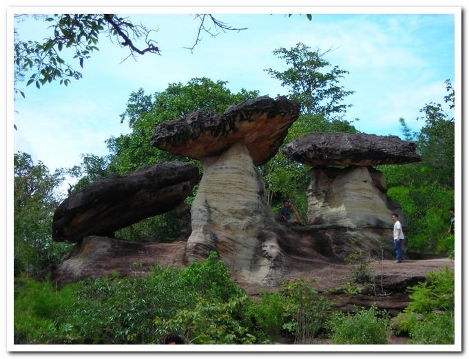 Sao Chaling - Pha Taem National Park - Ubon Ratchathani Province -