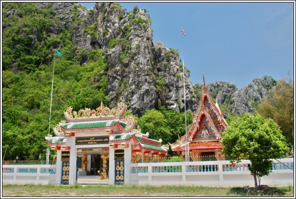 Wat Khao Deang  - Khao Sam Roi Yot National Park