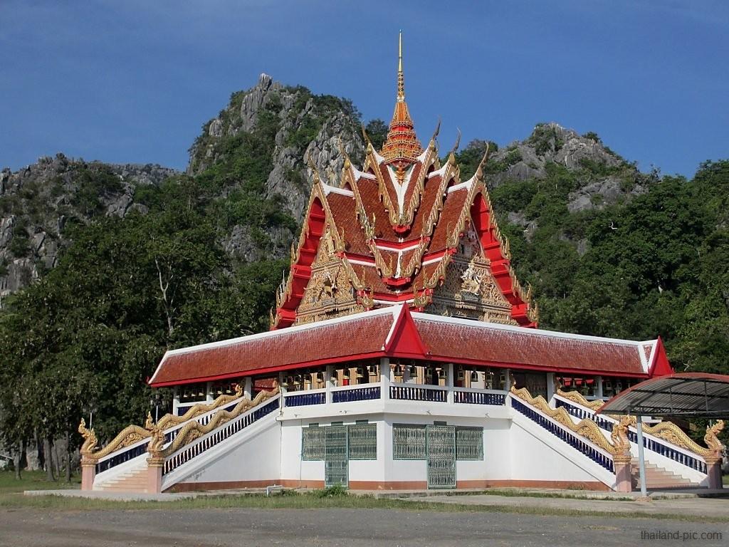 Wat Khao Deang - Khao Sam Roi Yot National Park - Prachuap Khiri Khan Province