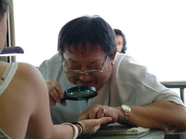 Fortuneteller Wat Pho Bangkok
