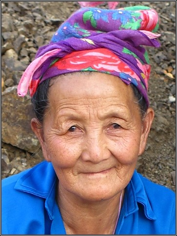 Hill Tribe Grandma