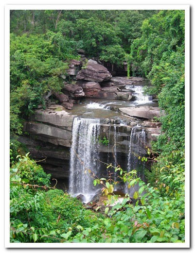 Waterfall - Pha Taem National Park - Ubon Ratchathani Province -