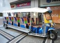 Tuk Tuk Limosine At MBK