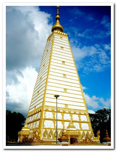 Ubon Ratchathani - Chedi At Wat Nong Bua -