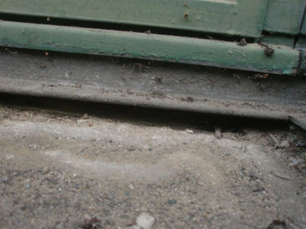 Mangelhafte Bauwerksabdichtung an Fensterelementen