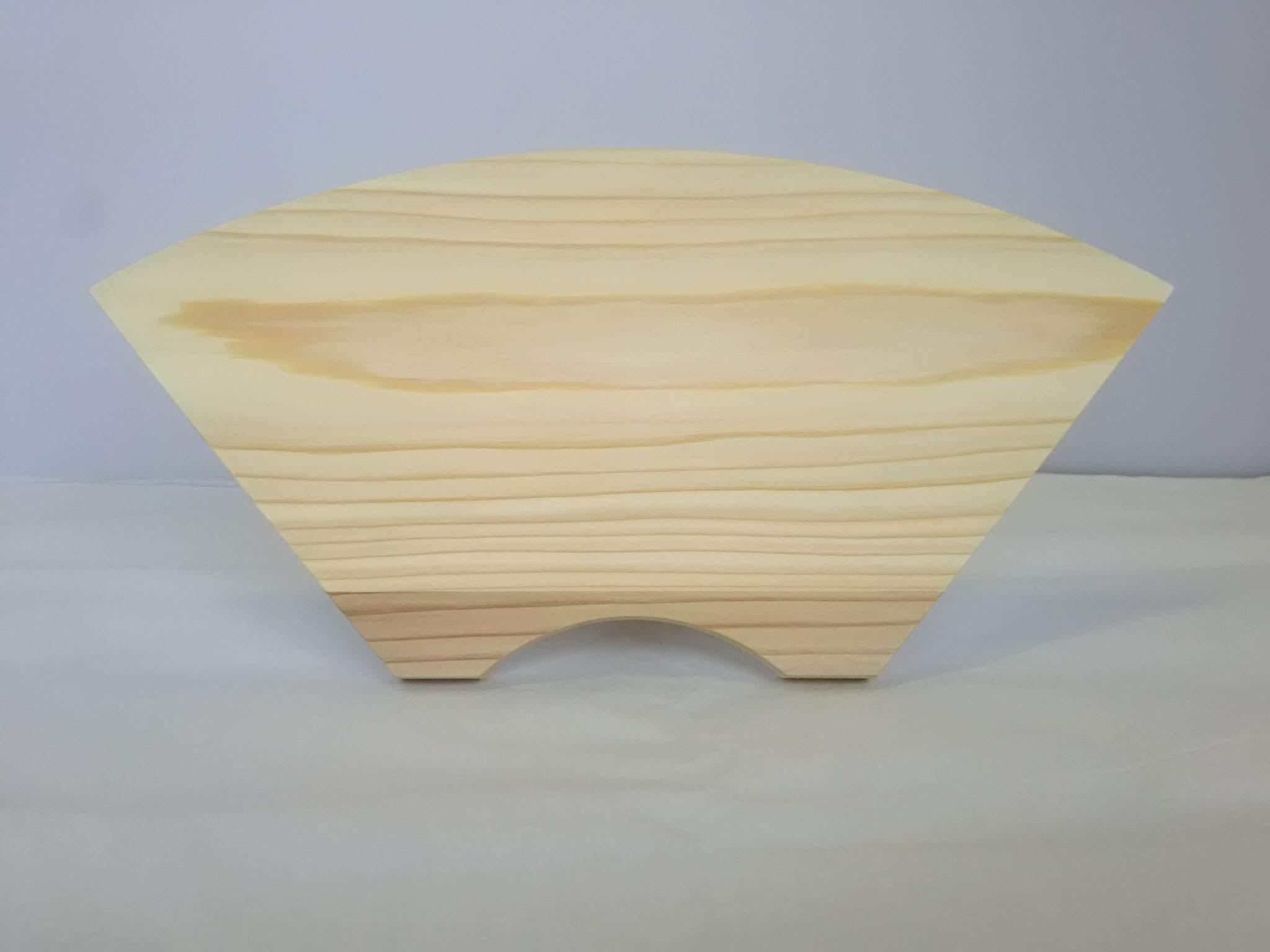 楯型 無塗装 杉