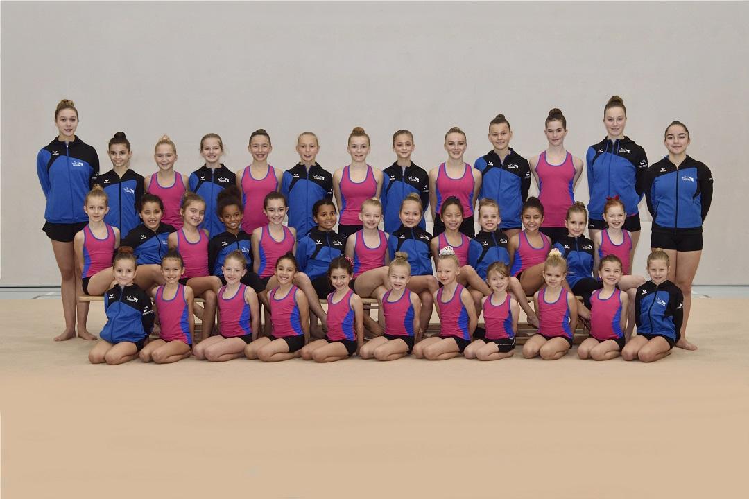 Gruppenfoto Gymnasiastinnen
