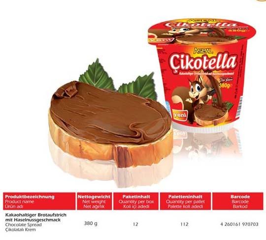 Cikolatali Krem 380g