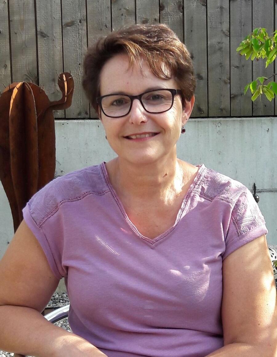 Daniela Schädeli - Mitarbeiterin seit Oktober 2011 und der ruhende Pol im Team.